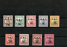 GERMANY COLONIES SAMOA Lot BRITISH OCCUPATION.Mi.1-9 MH SIGNED