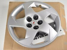 "2003-2010 Pontiac Vibe with Logo 16"" Silver 5-Spoke Wheel Cover Hub Cap new OEM"