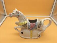 """Heritage Mint Collection Porcelain Horse Pitcher/Tea Pot Decorative 10 x 7"""""""