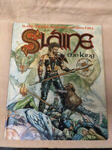 Slaine The King By Pat Mills & Glenn Fabry - Titan Books 1987