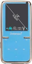 Intenso tragbarer MP3/Multimedia-Player Video Scooter 8GB Blau