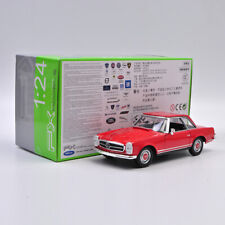 WELLY 1:24 Scale 1963 MERCEDES-BENZ 230 SL Red Diecast Car Model New in Box