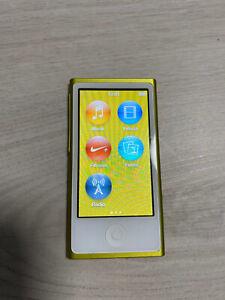 Apple iPod nano 7G 16GB Grün - Super Zustand- Modell 2015