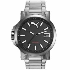 PUMA Stainless Steel Case Stainless Steel Strap Wristwatches