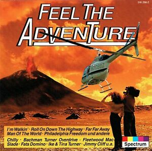 (CD) Feel The Adventure - Slade, Sir Douglas Quintet, Chilly, Jimmy Cliff