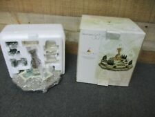 Dept 56 Seasons Bay Garden Fountain 9pc Set 53330 Department 56