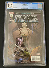 Thanos #13 CGC 9.4 White Pages (1st App Of Cosmic Ghost Rider) Marvel Comics
