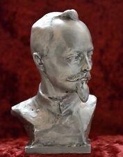 USSR Russian Soviet communist DZERZHINSKY bust statue Lenin sc.Murzin H=18 cm.