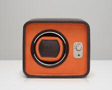 Wolf Windsor Single Watch Winder Brown Orange Box Case 452406