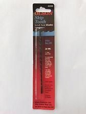 "Olson 5"" 130mm Plain Ended Scroll Saw Blades 12 Blades 2/0 28tpi Fine  FREE POST"