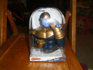 Marvel Avengers Thanos Coin Bank Walgreens Exclusive 2019 SEALED
