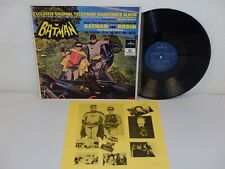 Batman And Robin TV Soundtrack 1990 NM! RARE Korea LP Mercury SEL 2006