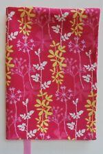 Fabric Paperback Book Cover Flower Fabric Floral Print Fabric Joyful Garden