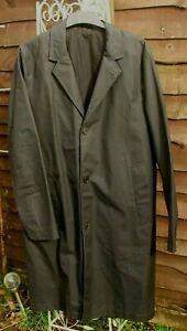 BN Stutterheim Sweden  Black Raincoat Water Resistant, Partially Lined, Size M