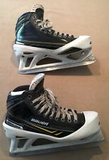 Bauer Supreme Total One NXG Goalie Skates Size 11.5 Vertexx 2.0 LS2 Very Good!!