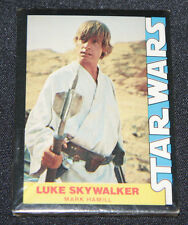 1977 Star Wars Trading Cards Sealed In Plastic Mark Hamill Luke Skywalker