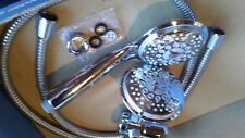 Dream Spa 5 poisition Hand Shower and Shower Head Combo in Chrome New Free Ship