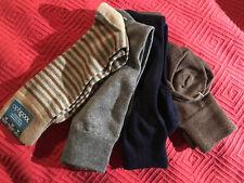 Mens Size 7-12 The Opticool Sock 4 Pack Tan Navy Brown And Gray Dress Socks NEW