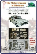 Ltd ed. 1963 Cortina 1/24th scale resin model kit by Motor Museum in Miniature.