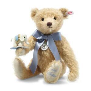 Teddy Bear with Little Felt Elephant by Steiff - EAN 006166