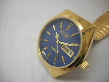citizen automatic men's gold plated vintage japan made wrist watch run order-bg5