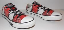Dr Seuss Converse Cat In The Hat All Star Low Top Sneakers Size 3 Junior
