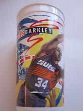 1993 Charles Barkley Phoenix Suns Sixers Mcdonalds souvenir plastic cup