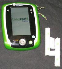 "LeapPad2 Power Learning Tablet - Green Leappad 2 LeapFrog – Wi-Fi, 5"" Screen ~GC"