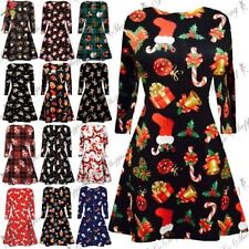 Polyester Christmas Unbranded Dresses (2-16 Years) for Girls