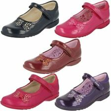 Clarks Party Shoes with Hook & Loop Fasteners for Girls