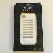 Oakley White Unobtainium iPhone 4 4s Phone Case BNWT bob juliet cap display skul