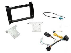 MASCHERINA KIT AUTORADIO MONITOR GPS DOPPIO 2 DIN MERCEDES VITO W224 e VITO W447