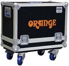 Orange Ppc 212 2x12 Speaker Cabinet case Orange Logo Hd Tour Grade Ata case