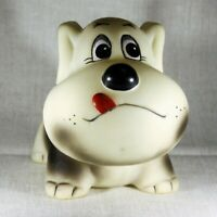 Dog puppy vintage old rubber toy USSR Soviet Russia