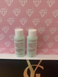 Clarins Anti Pollution Cleansing Milk With Moringa & Alpine Herbs 10ml X2