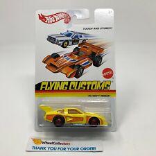 '76 Chevy Monza * Yellow * Hot Wheels Flying Customs * JD21