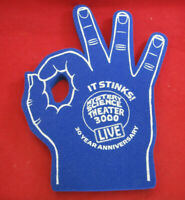 NEW MYSTERY SCIENCE THEATER 3000 MST3K LIVE 3OTH ANNIVERSARY BLUE FOAM HAND!