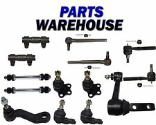 14 Pc Kit Ball Joints Tie Rods Pitman Arm for Dodge Ram 2500 3500 2WD 00-02
