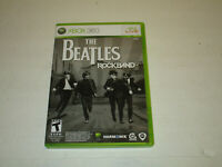 THE BEATLES: ROCK BAND Xbox 360 Complete CIB w/ Box, Manual Very  Good Cond