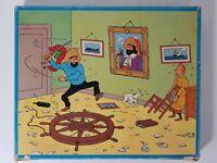 TINTIN Puzzle Secret la Licorne Trapussel Tra-pussel Karnan Lombard 1975 COMPLET