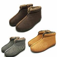 winter warm buddhist shaolin Monks shoes Lay nuns meditation fleece boots linen