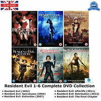 Resident Evil Series 1-6 Special Features Complete Season 1 2 3 4 5 6 New UK DVD