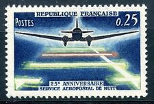 STAMP / TIMBRE FRANCE NEUF LUXE ** N° 1418 ** SERVICE AEROPOSTAL DE NUIT
