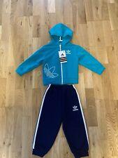 Adidas Kinder Sportanzug Gr.86 Grün/schwarz(aus die Türkei) Neu