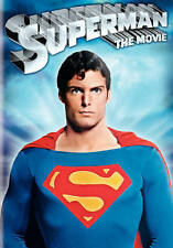 New! Superman The Movie DVD Christopher Reeve Theatrical Kidder Brando DC Comics