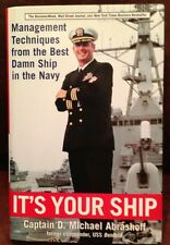 New listing Signed It's Your Ship: Management Techniques from Navy Captain Michael Abrashoff