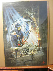 The Alchemy Carta 1999 ORIGINAL Vintage fantasy Poster  reaper 1066