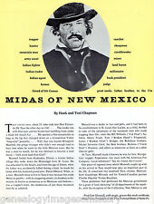 Midas Of New Mexico - L.B. Maxwell + Genealogy