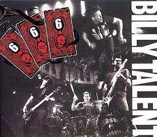 BILLY TALENT 666 CD + DVD DIGIPAK COMBO TRY HONESTY SURRENDER