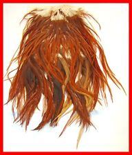 Keough Brown Fly Tying Fishing Saddle Hackle Feathers
